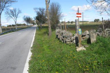 Caminho de Santiago português Interior