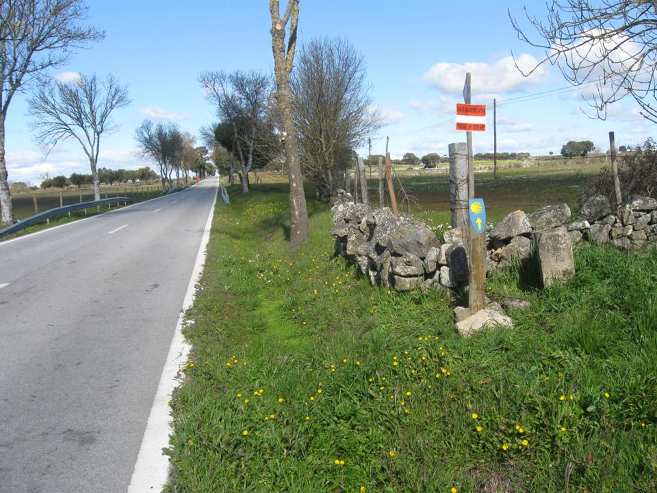 Portuguese Way of St. James Inland