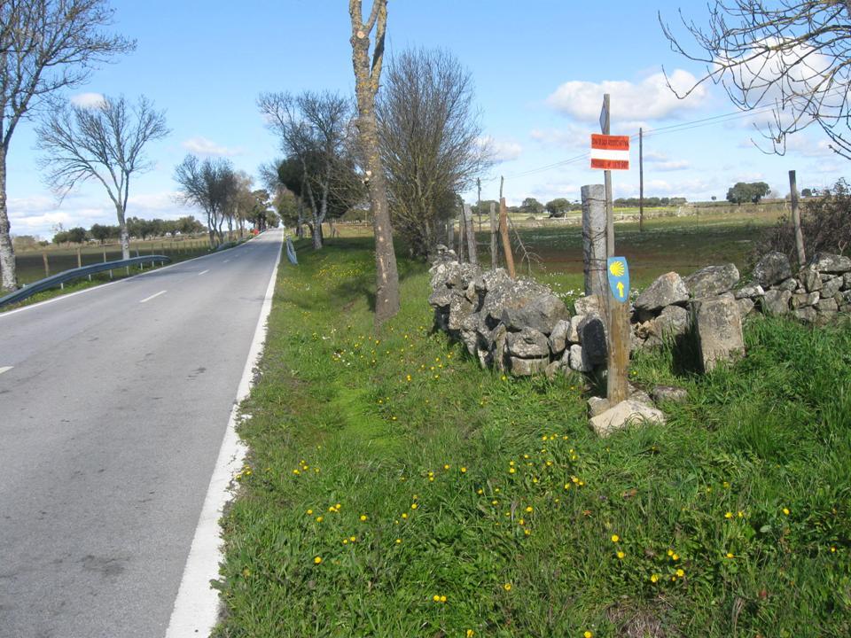 Camino Portugués del Interior de Santiago