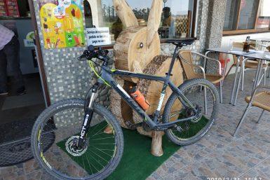 Caminho Santiago aluguer bicicleta