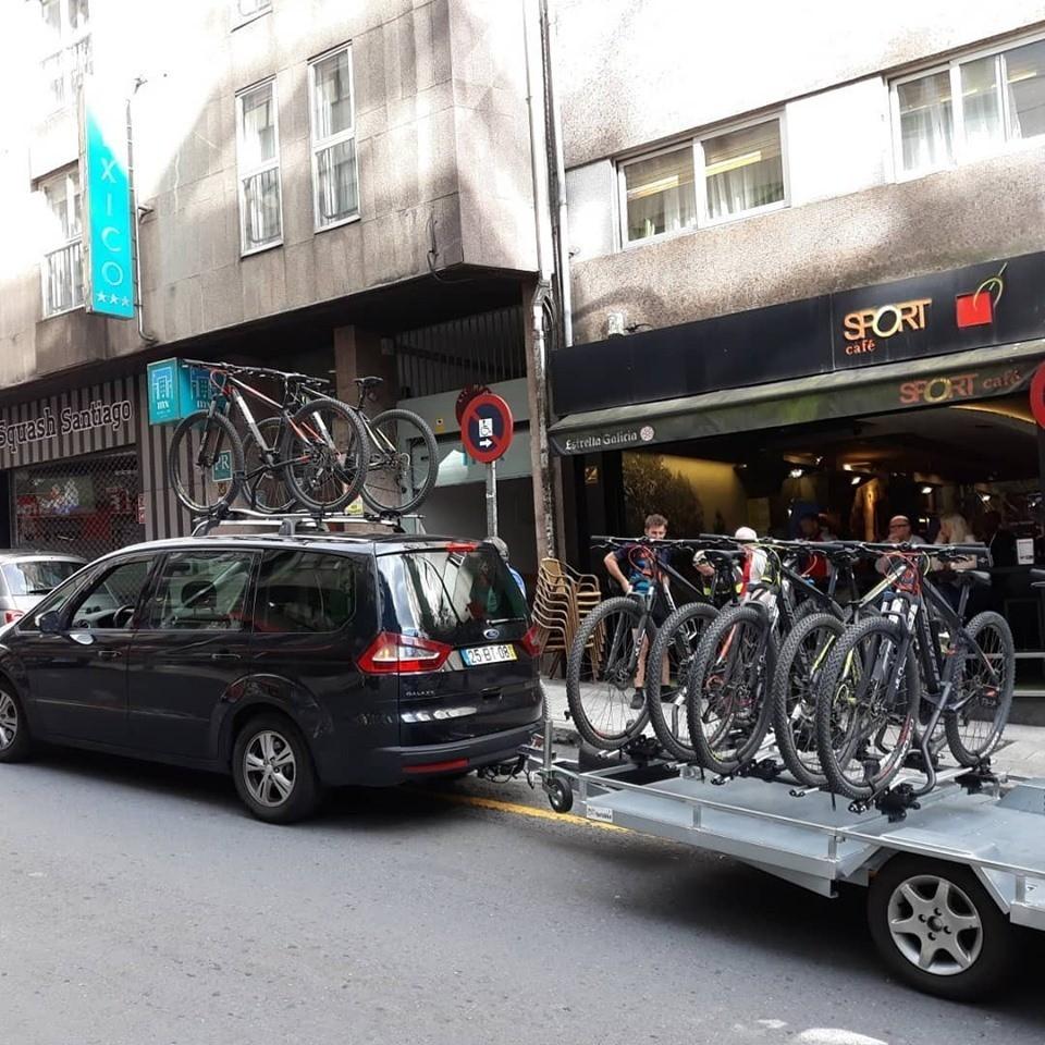 Hotel em Santiago de Compostela com Turisbike