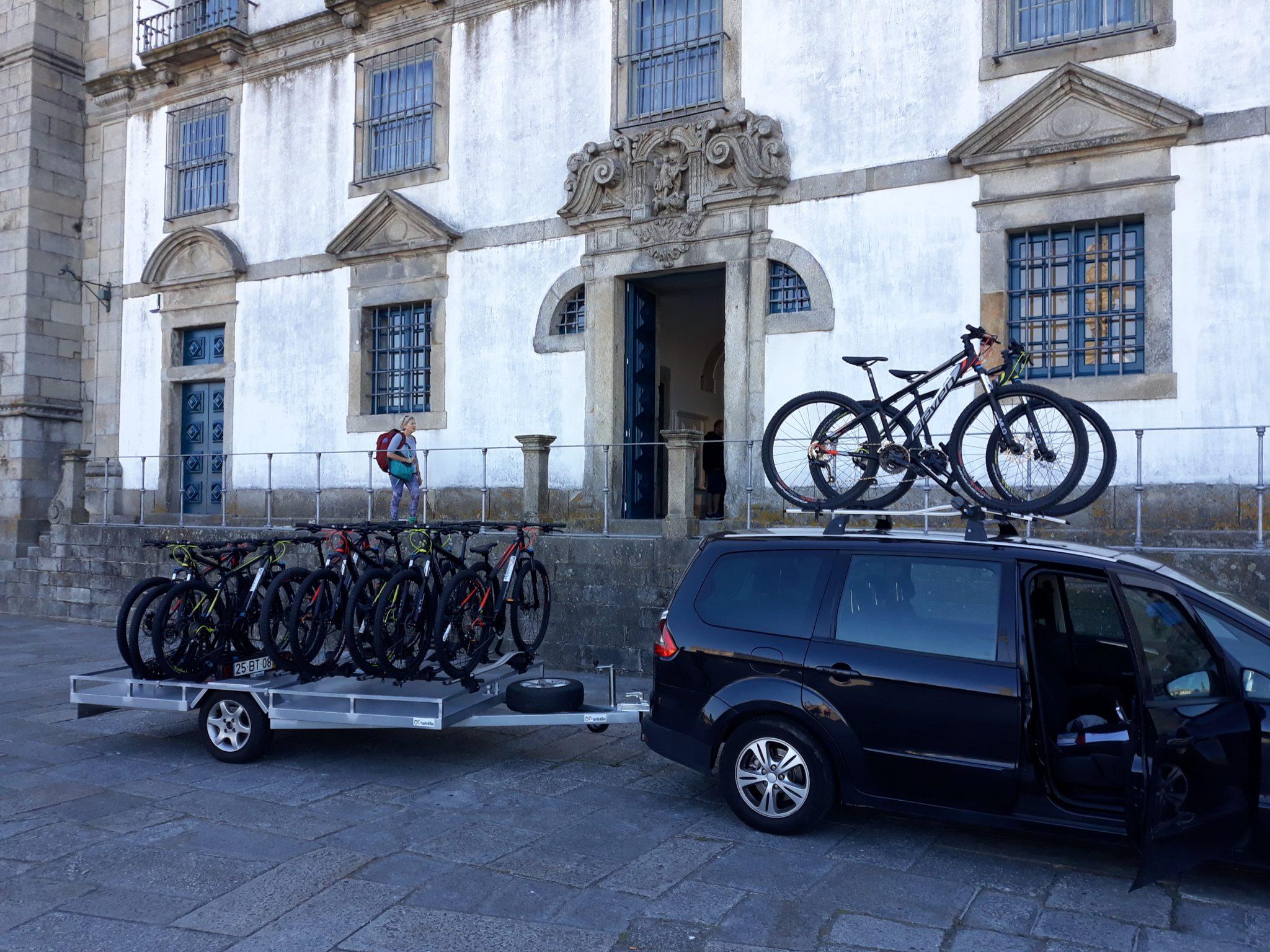Servicio de transporte para bicicletas y ciclistas