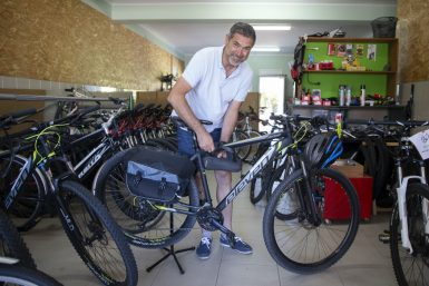 Bicycles in Póvoa to the measure of the adventure for the Way of Santiago