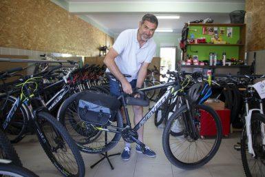 Bicicletas na Póvoa à medida da aventura para Santiago