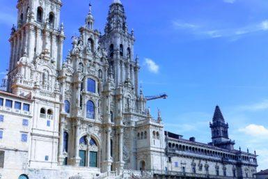 Santiago de Compostela Cathedral in Obradoiro Square