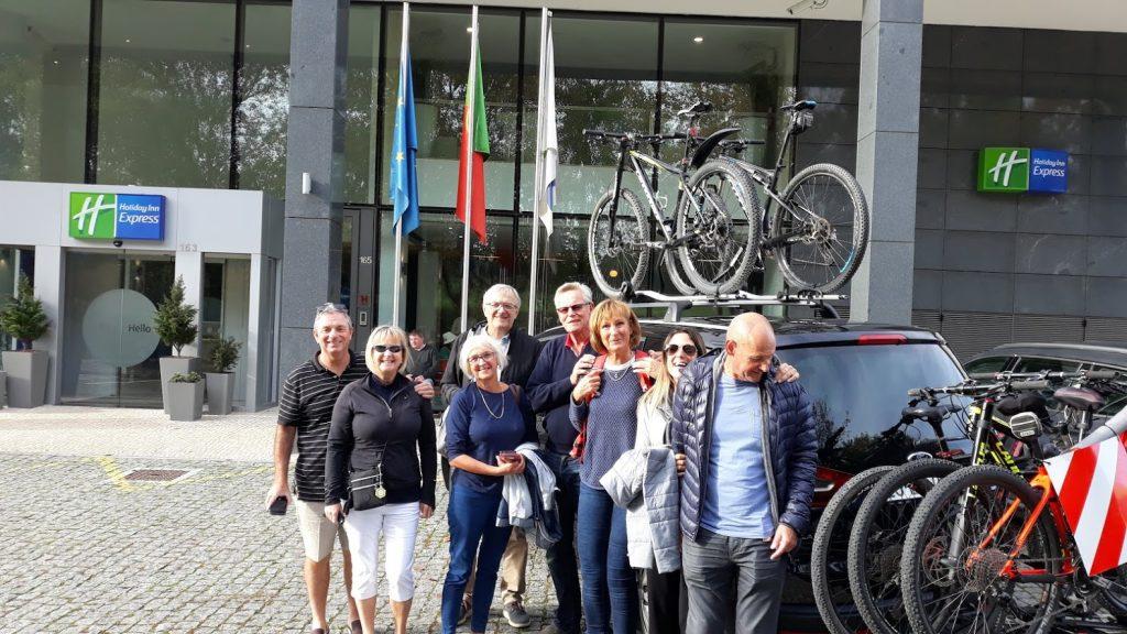 Transportar bicicleta do hotel para a ciclovia