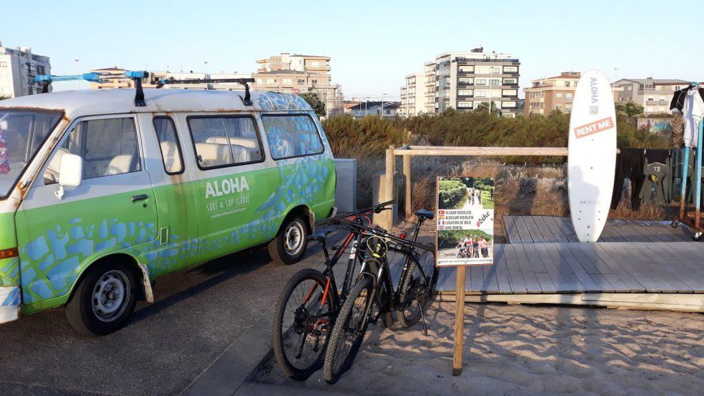 Alugue uma bicicleta em Vila do Conde no Aloha, agora mais perto de si